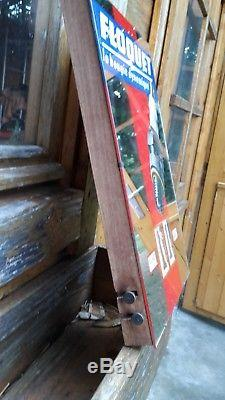 Plaque Miroir Ancien Garage Calendrier Bougie Floquet