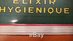 Plaque Pub Bombee Tole Peinte Oxygenee Elexir Hygienique De Andreis Marseille