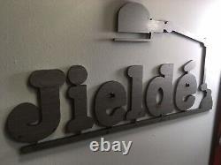 Plaque Publicitaire des Lampes JIELDE