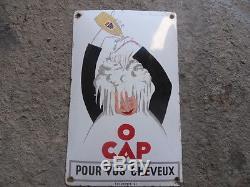 Plaque emaillée O CAP