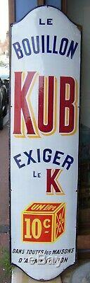 Plaque émaillé KUB 1930/40