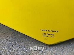 Plaque émaille Michelin Tracteur Bibendum 1960 Tole Auto Service Garage Pneus