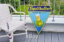 Plaque emaillé SPALTHALLER
