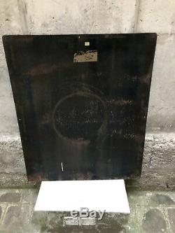 Plaque emaille ancienne Grande Kneipp ed Jean