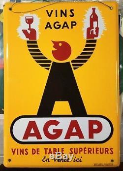 Plaque émaillée AGAP