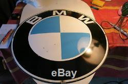 Plaque emaillee BMW