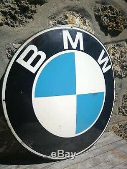 Plaque émaillée BMW 60cms