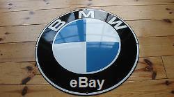 Plaque emaillee BMW Très bon! Original