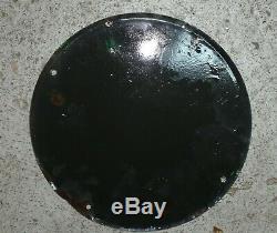 Plaque émaillée CASTROL petit diametre EAS