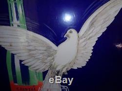 Plaque émaillée CHAUDFONTAINE Jean d'Ylen 1934 (60 X 80 cm)