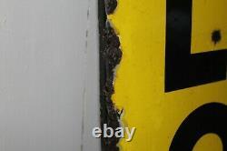 Plaque émaillée DUNLOP d'après SAVIGNAC. Emaillerie alsacienne. Deco garage, loft