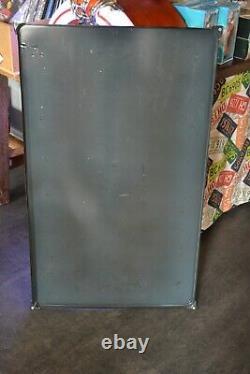 Plaque émaillée Hunter cigarettes numérotée 04/10 enamel sign emaischild