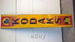 Plaque émaillée KODAK'S