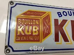 Plaque émaillée KUB 1920