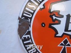 Plaque emaillee Label Bretagne qualite cuisine specialites regionale 1961
