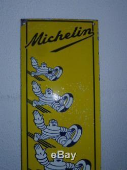 Plaque émaillée MICHELIN 76cm 25cm