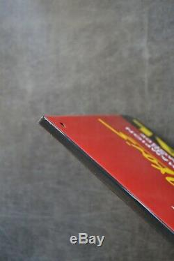 Plaque émaillée Marchal 1 mètre50cm