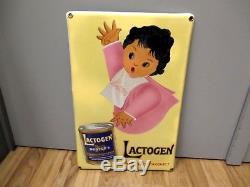 Plaque émaillée Nestlé Lactogen 1930