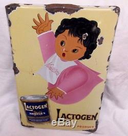 Plaque émaillée Nestlé Lactogen Suisse 1930 Originale