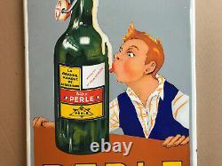 Plaque émaillée PERLE STRASBOURG