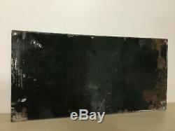 Plaque émaillée POTASSE d'ALSACE 30cm x 15 cm bombée