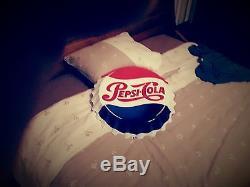 Plaque emaillee Pepsi cola