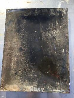 Plaque émaillée Poule Au Pot 1936 Épicerie Avant Guerre Cuisine