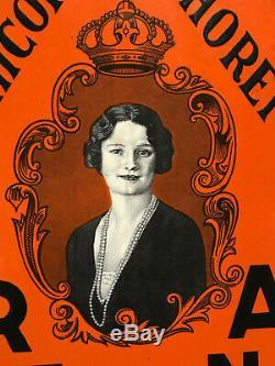 Plaque emaillée REGINA 1939 U L T R A R A R E