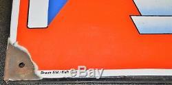 Plaque émaillée SOCHAUX 64x45cm Années 30