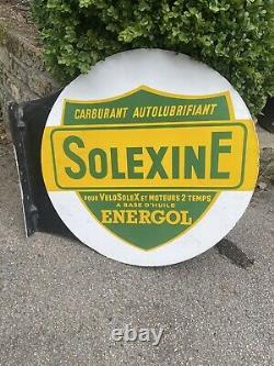 Plaque emaillee Solexine