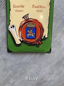 Plaque emaillee Thermomètre Bière Mutzig Alsace Reine Des Bières