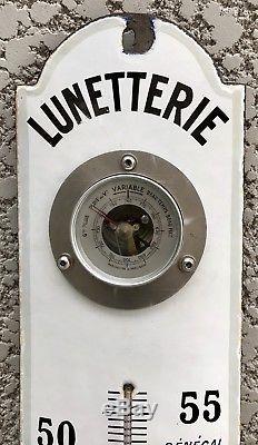Plaque émaillée Thermomètre Optique Médicale Lunettes