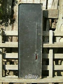 Plaque émaillée, Thermomètre ancien CAFE MARTEL (Grand Modèle)