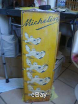 Plaque émaillée américaine michelin 77cm 26cm