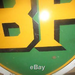 Plaque émaillée ancienne BP