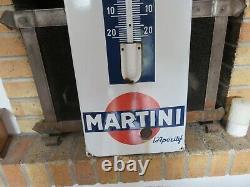 Plaque émaillée ancienne MARTINI