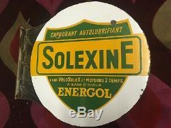 Plaque emaillee ancienne SOLEXINE SOLEX
