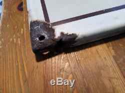 Plaque emaillée ancienne chocolat DELESPAUL HAVEZ bon état