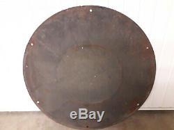 Plaque emaillee ancienne dunlop 110cm