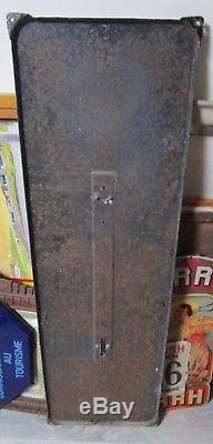 Plaque émaillée ancienne thermomètre MARTINI 1962