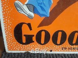 Plaque émaillée goodrich enamel sign emailshild