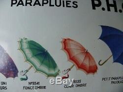 Plaque emaillée parapluie golaz