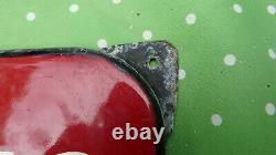 Plaque émaillée publicitaire BUITONI, ancienne, émaillerie alsacienne