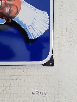 Plaque emaillee restauration syndicale alsace lorraine