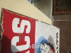 Plaque émaillée tabacs cigarettes celtiques DUPIN bistrot publicité ancienne