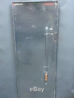 Plaque émaillée thermomètre chocolat pupier