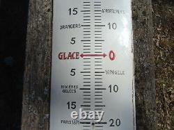 Plaque emaillée, thermomètre emaillé CHOCOLAT REVILLON