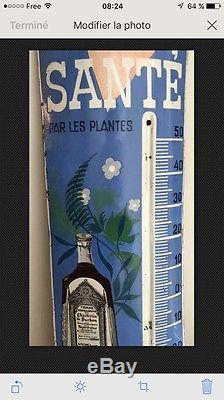 Plaque Émaillée Ancienne Tisane Des Chartreux De Durbon Rarissime