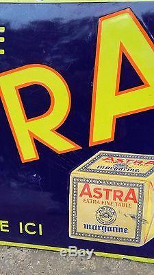 Plaque émaillée Astra
