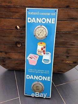 Plaque émaillée Danone